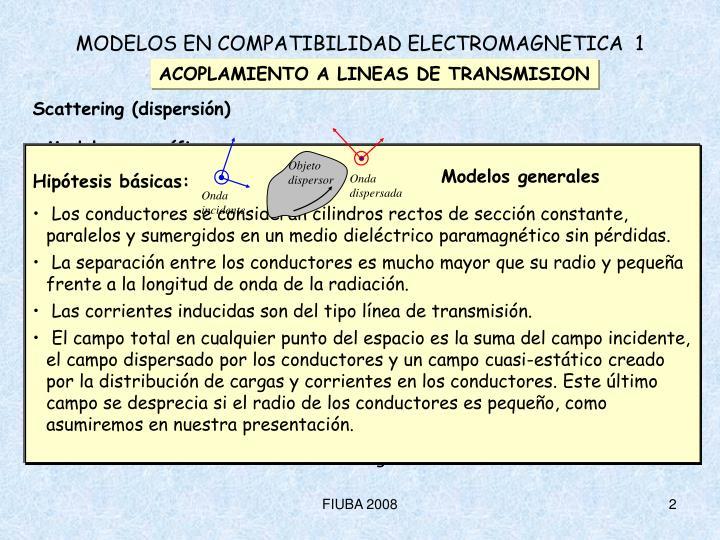 Modelos en compatibilidad electromagnetica 1