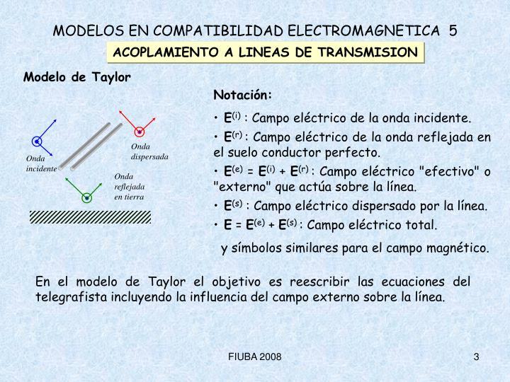 Modelos en compatibilidad electromagnetica 5