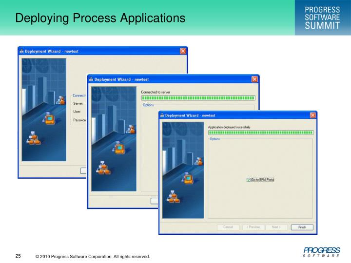 Deploying Process Applications