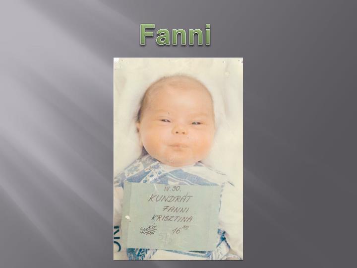 Fanni