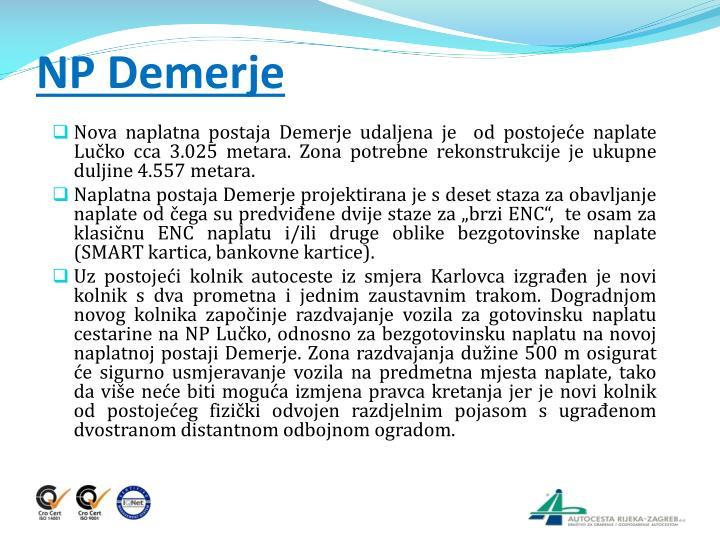 NP Demerje