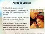 aceite de lorenzo