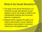 what is the social revolution