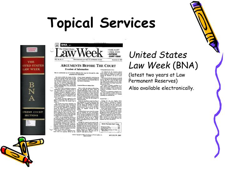 Topical Services