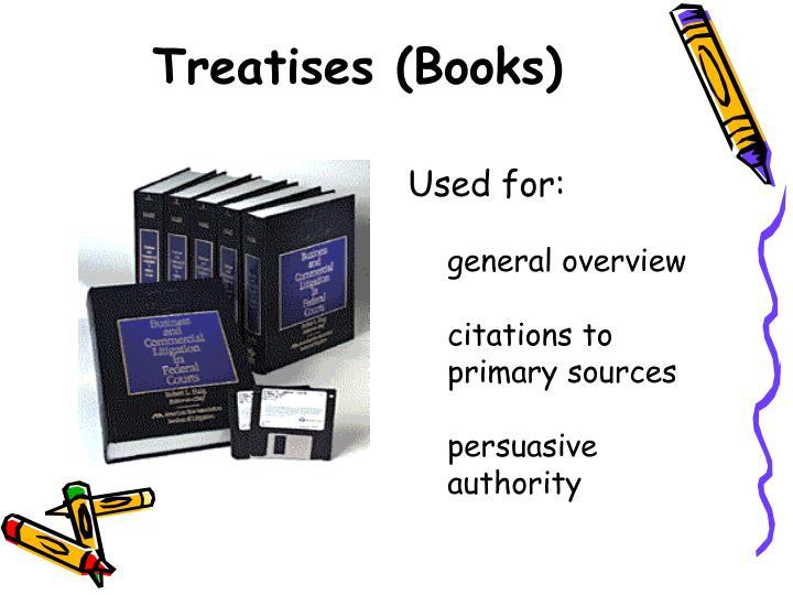 Treatises (Books)