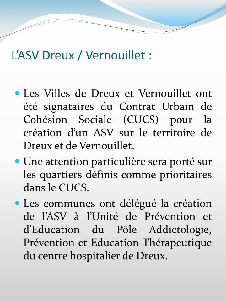 L'ASV Dreux / Vernouillet :