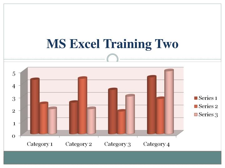 ms excel training two n.