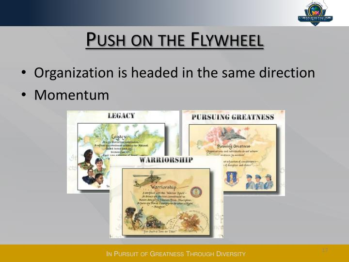 Push on the Flywheel