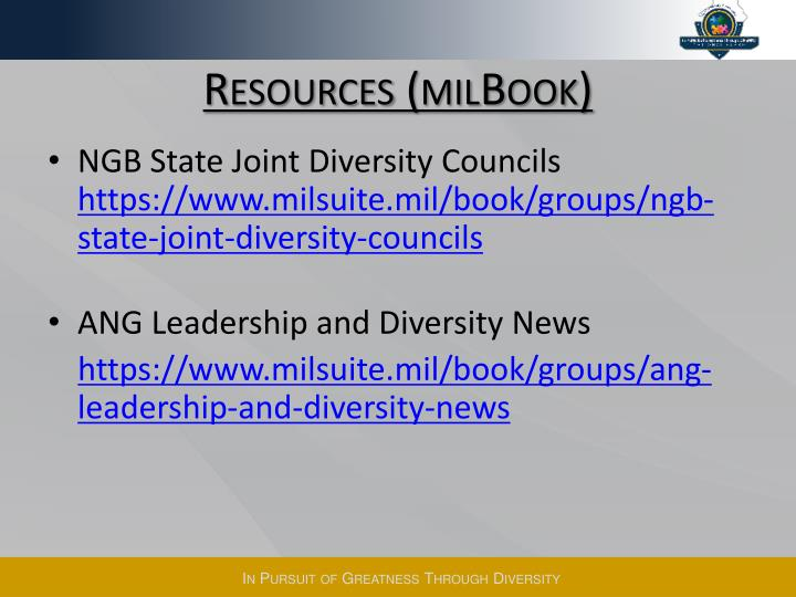 Resources (