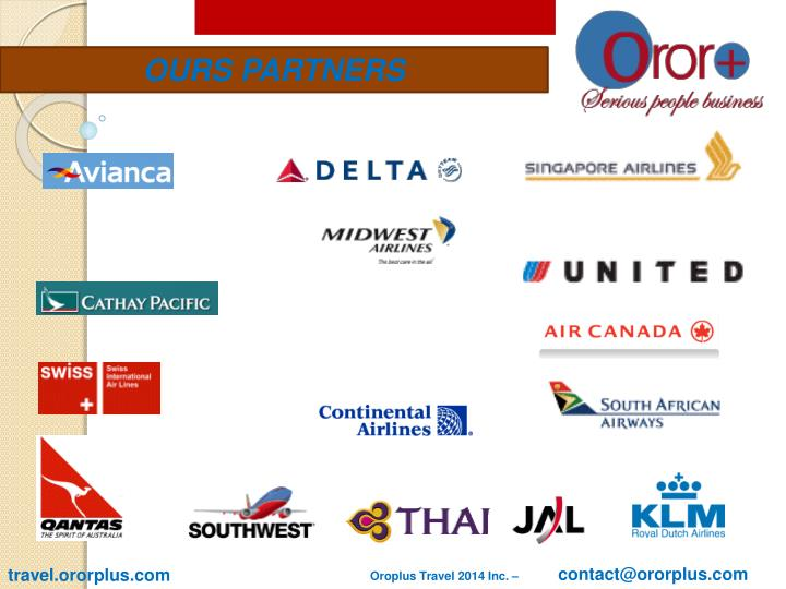 OURS PARTNERS