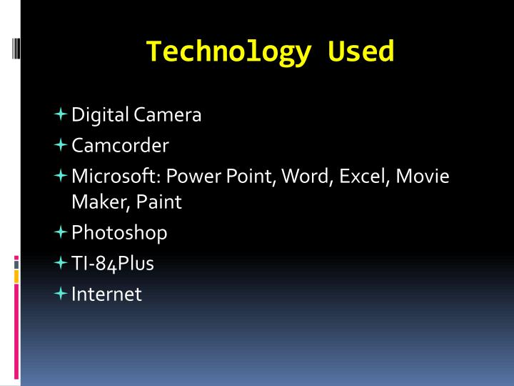 Technology Used