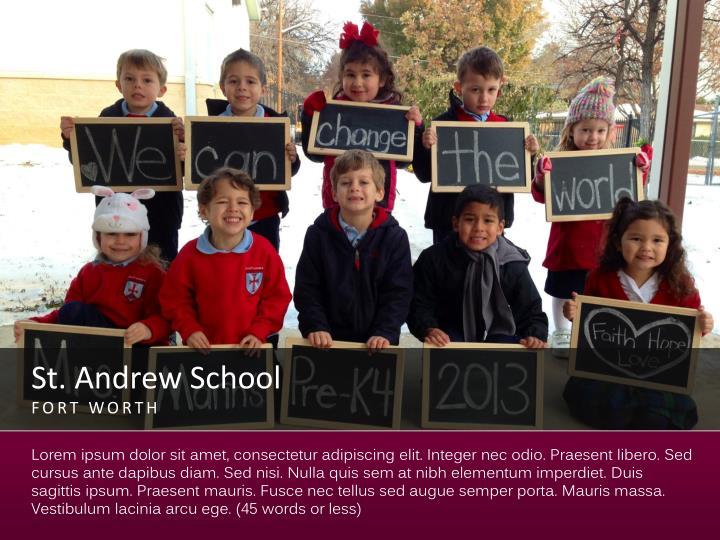 St andrew school