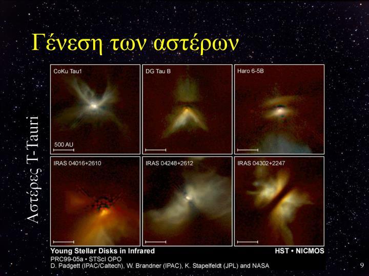 Γένεση των αστέρων