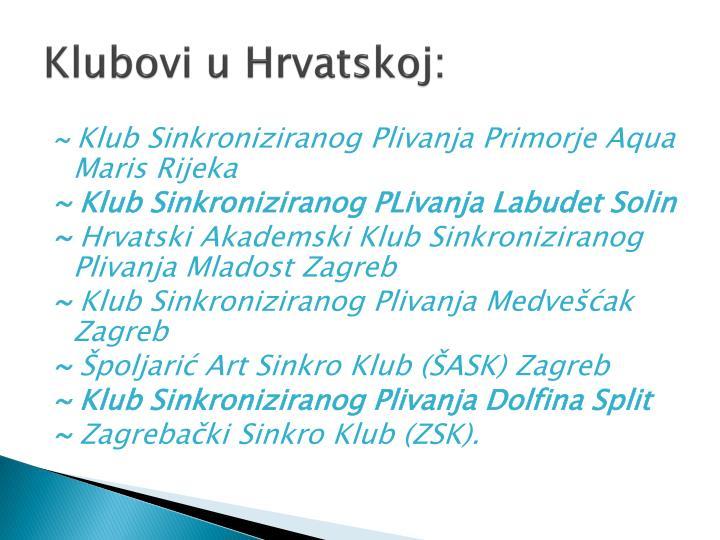 Hrvatska swinger klub Swingerski klubovi
