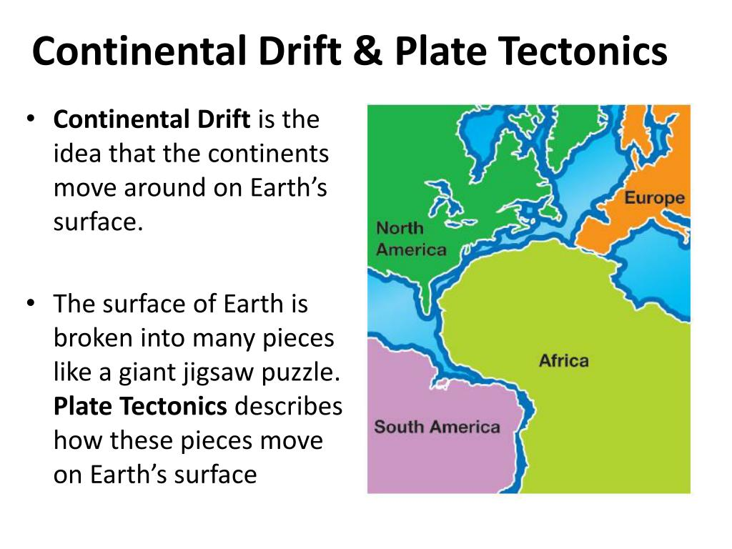 Concept Map Of Continental Drift.Ppt Continental Drift Plate Tectonics Powerpoint Presentation