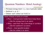 quantum numbers hotel analogy1