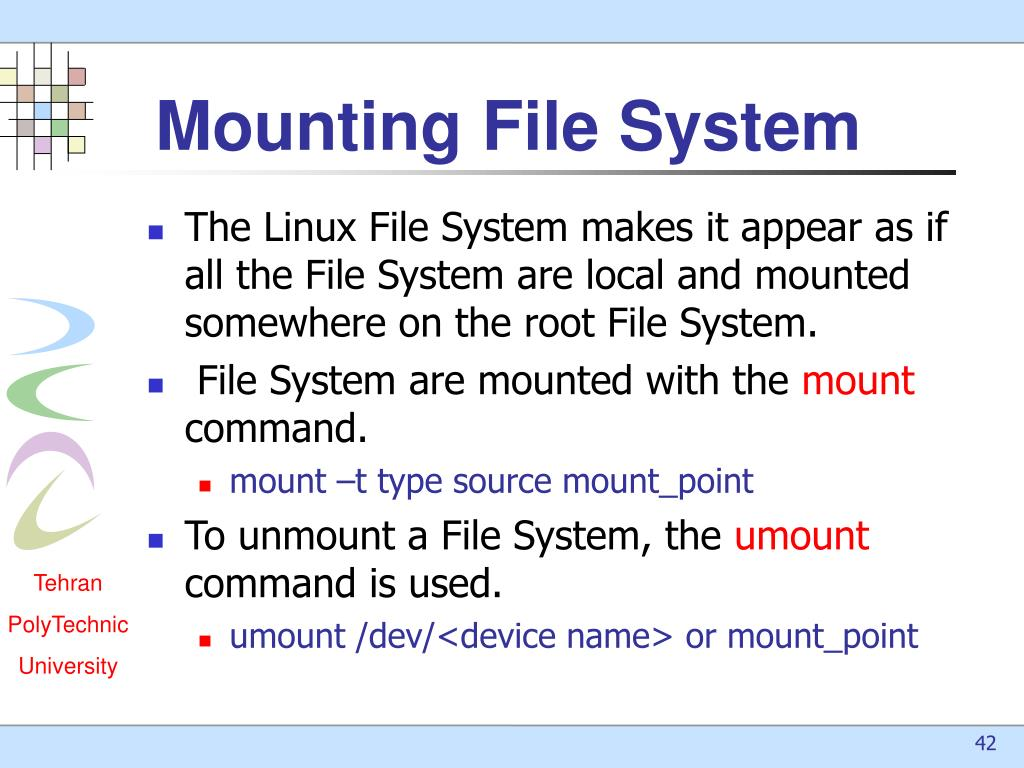 PPT - Linux File System PowerPoint Presentation - ID:5056673