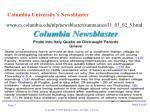 columbia university s newsblaster