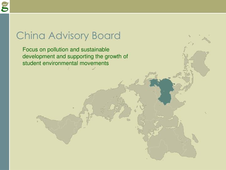 China Advisory Board