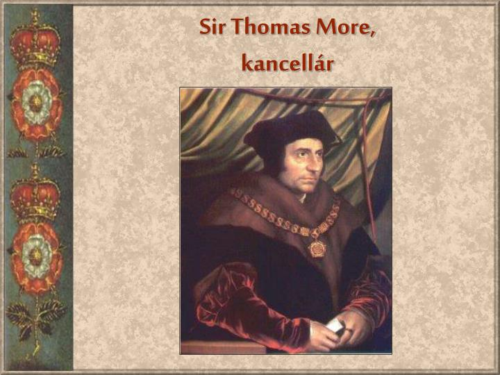 Sir Thomas More,