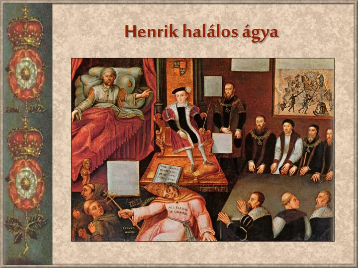 Henrik halálos ágya