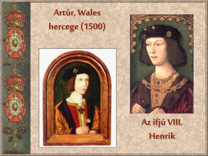 Artúr, Wales hercege (1500)