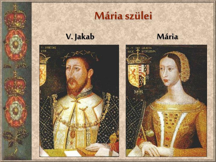 Mária szülei