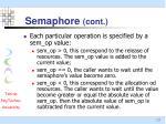 semaphore cont2