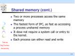 shared memory cont5