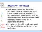 threads vs processes1