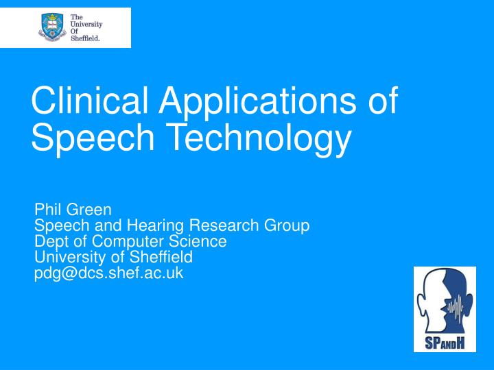 science and technology speech