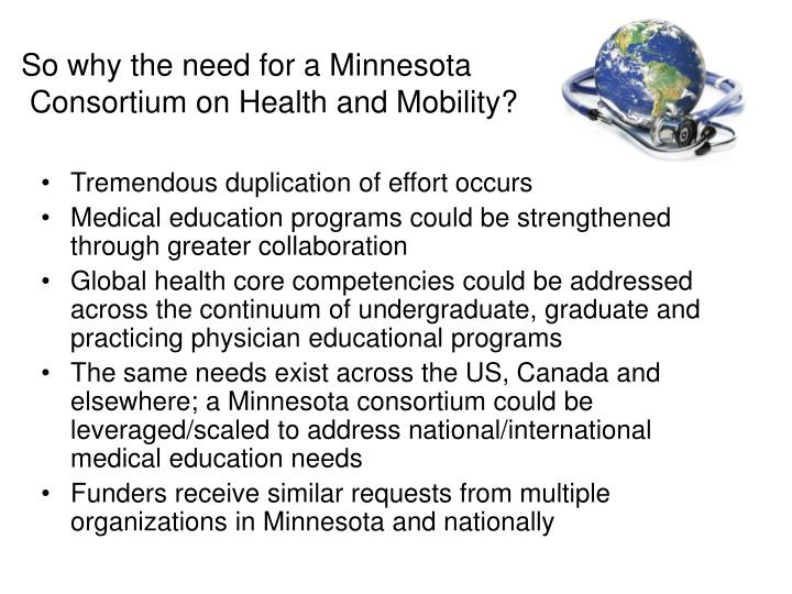 So why the need for a Minnesota