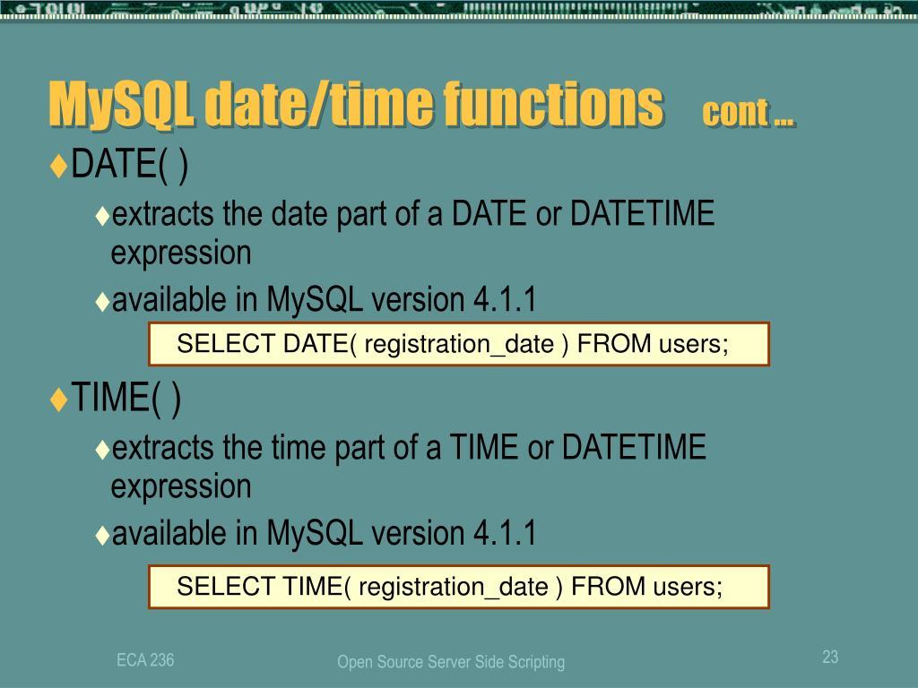PPT - ECA 236 PowerPoint Presentation - ID:5057721