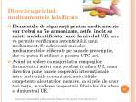 directiv a privind medicamentele falsificate2