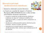 directiva privind medicamentele falsificate