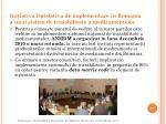 ini iativa legislativa de implementare in romania a unui sistem de trasabilitate a medicamentelor1