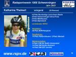 katharina theinert wjugend 29 rennen