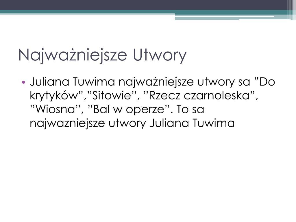 Ppt Julian Towim Matka Powerpoint Presentation Free