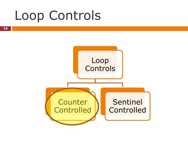 Loop Controls
