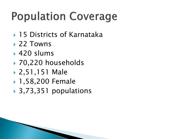 Population Coverage