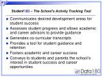 student 180 the school s activity tracking tool