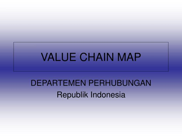 value chain map n.