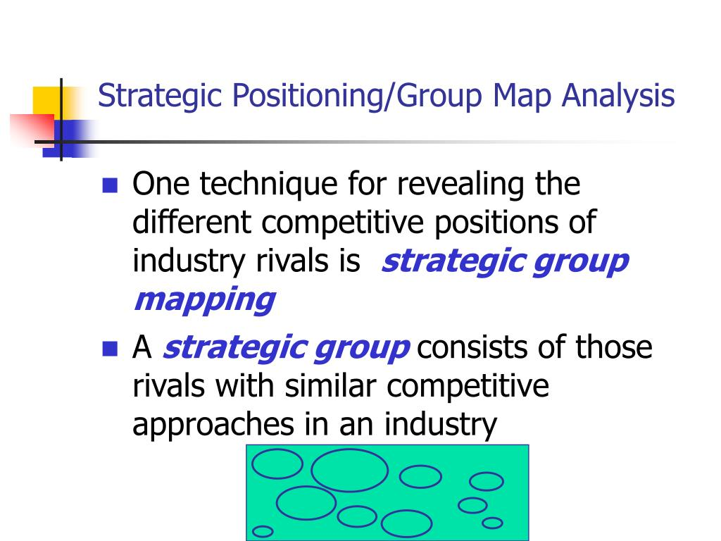PPT - Industry & Competitive ysis PowerPoint ... In Mapping The Positions Of Strategic Groups An Industry on