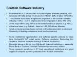 scottish software industry