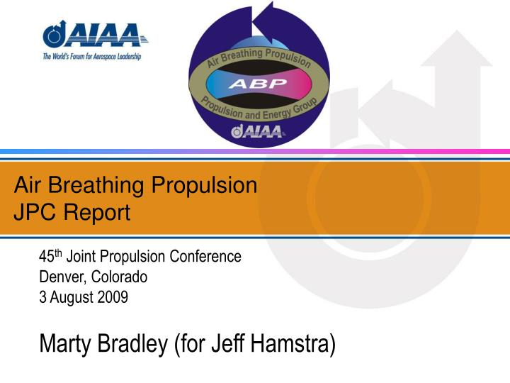 air breathing propulsion jpc report n.
