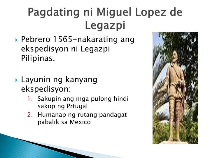 Pagdating ng mga espanya sa pilipinas ppt presentation
