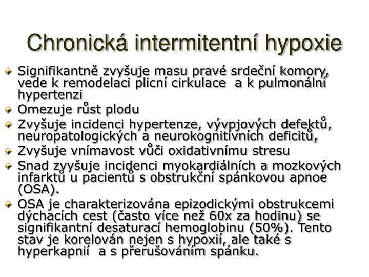 Chronická intermitentní hypoxie