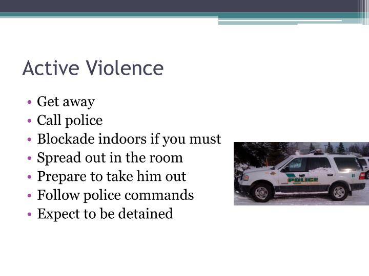 Active Violence