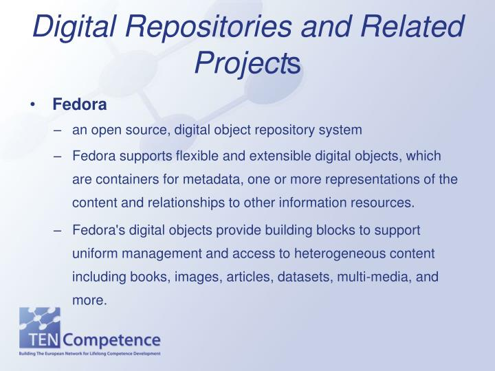 Digital Repositories and Related Project