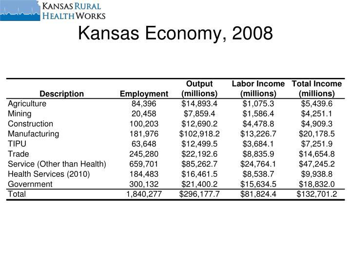 Kansas Economy, 2008
